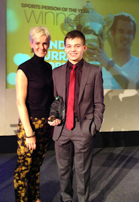 James Coulter Young Sports Person of the Year