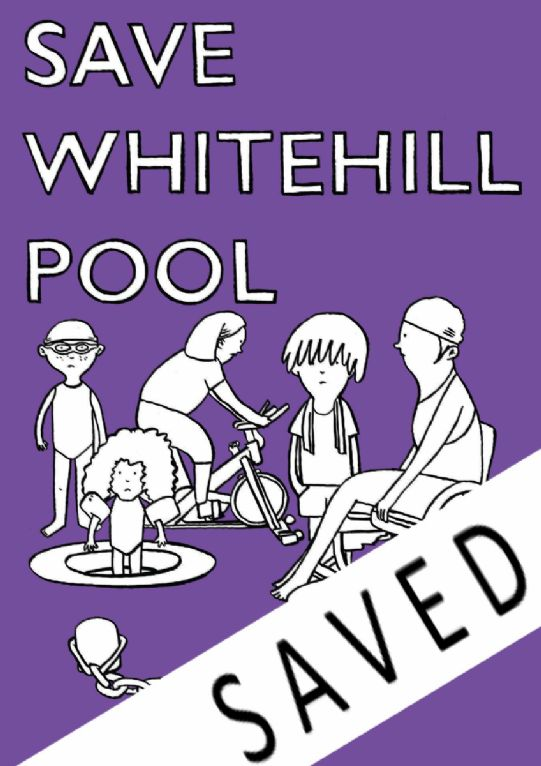 Save Whitehill Pool Campaign Link